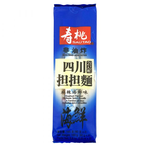 Sau Tao Sichuan Noodle (Mala Seafood Flavour) 160g