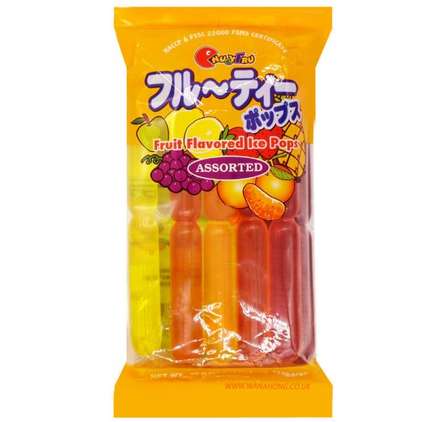 Chucyfru Ice Pops – Fruit Assorted 850g