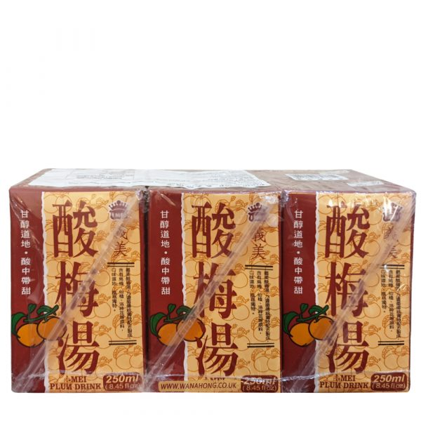 Imei Plum Soup 250ml (Pack of 6)