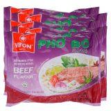 Vifon Pho Instant Rice Noodle – Beef Flavor (Pack of 5)