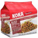 Koka Instant Stir Noodle – Black Pepper Flavor (Pack of 5)
