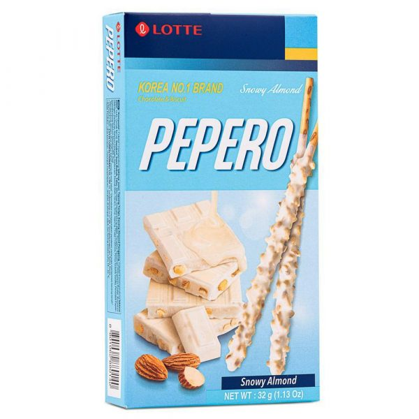 Lotte Pepero Snowy Almond 32G