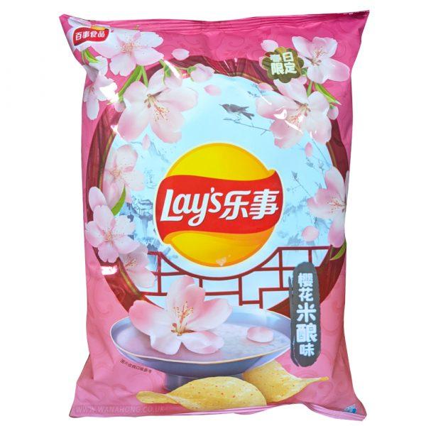 Lays Potato Chips (Cherry Blossom Flavor) 70G