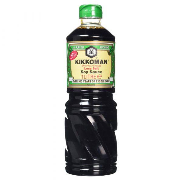 Kikkoman Soy Sauce (LESS SALT) 1L
