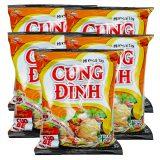 Cung Dinh Instant Noodles – Crab Laksa Flavor (Pack of 5)