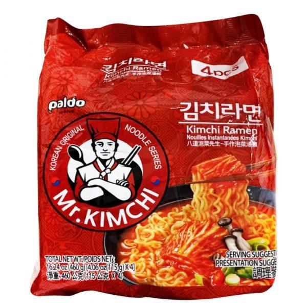 Paldo Mr Kimchi Noodle (Pack of 4)