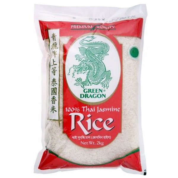 Green Dragon Thai Jasmine Rice (Small Pack) 2KG
